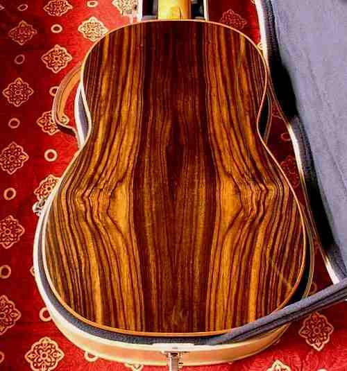 美丽的巴西玫瑰木背板